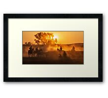 Golden Moments Framed Print