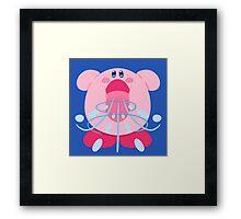 Kirby Inhale Framed Print