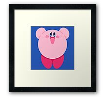 """Kirby """"Hiii"""" Framed Print"""