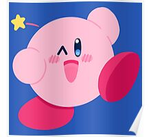 Kirby Wink Poster