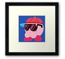Cool-Cat Kirby Framed Print