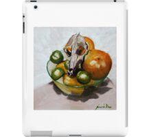 Tuty fruity dog in bowl iPad Case/Skin