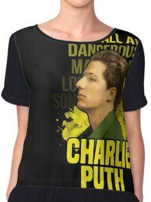 Charlie Puth Chiffon Top