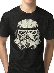 Space Soldier Helmet Tri-blend T-Shirt