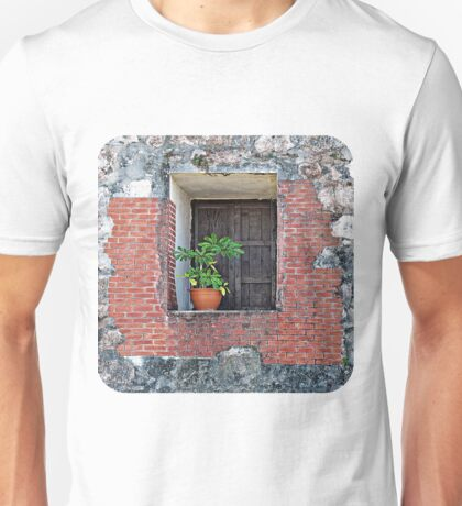 Plant on a Windowsill Unisex T-Shirt