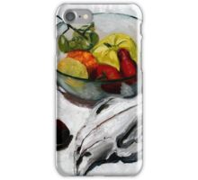 wombat fruit bowl iPhone Case/Skin