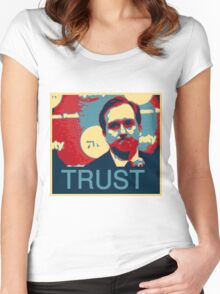 In Hinkie We Trust Women's Fitted Scoop T-Shirt