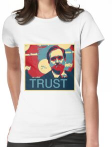 In Hinkie We Trust Womens Fitted T-Shirt