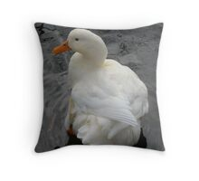 Beautiful Duck Throw Pillow
