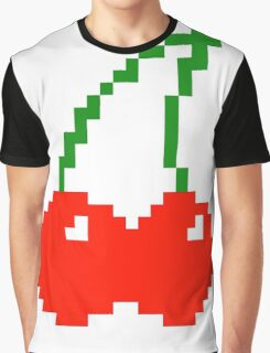 Pixel Cherry  Graphic T-Shirt