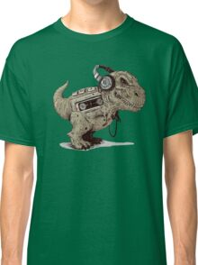 Record Store Day : Dino Loves Music Classic T-Shirt