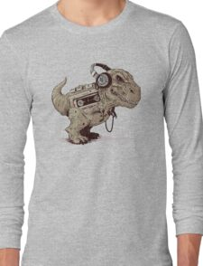 Record Store Day : Dino Loves Music Long Sleeve T-Shirt