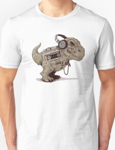 Record Store Day : Dino Loves Music T-Shirt
