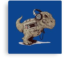 Record Store Day : Dino Loves Music Canvas Print