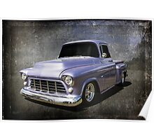 Stepside Chevy Poster