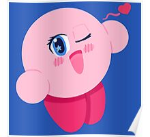 Anime Kirby Poster