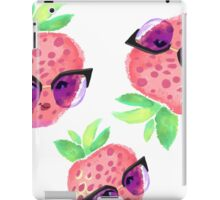 Strawberry fashionista iPad Case/Skin