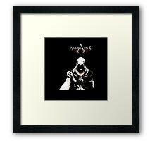 Assassin's Creed Black Screen. Framed Print