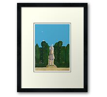Degas Dancer Garden Blue Sky Framed Print