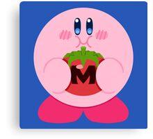 Metamato Kirby Canvas Print