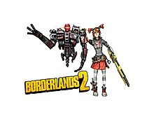 Borderlands 2-Gaige and Deathtrap Photographic Print