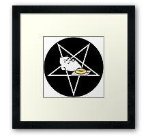 Satanic Tubbs Framed Print