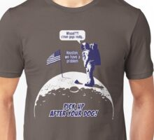 Dog Poop on the Moon... Unisex T-Shirt