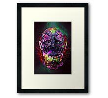 space face Framed Print