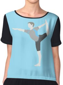 Wii Fit Trainer ♂ - Super Smash Bros. Chiffon Top