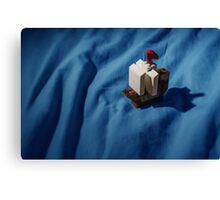 Lego boat Canvas Print