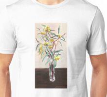 Yellow gum blossoms      Unisex T-Shirt