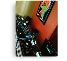 dj dreams Canvas Print