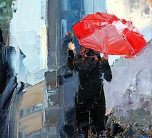 Red Umbrella by Claire McCall