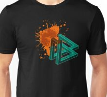 Impossible Geometry - Triangle Version Unisex T-Shirt
