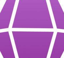 Sims Plumbob - Purple Sticker