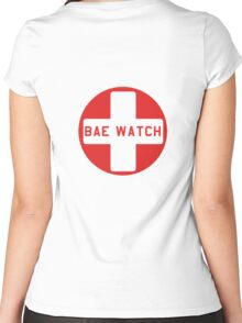 Bae Watch Women's Fitted Scoop T-Shirt