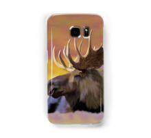 Autumn Bull Moose Art Print Samsung Galaxy Case/Skin
