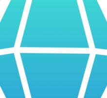 Sims Plumbob - Blue Sticker