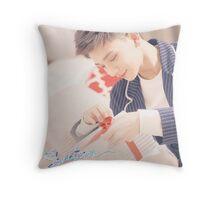 Joshua Seventeen Throw Pillow