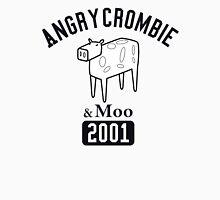 Angrycrombie & Moo Men's Baseball ¾ T-Shirt