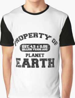 Property of Earth (Aged) Graphic T-Shirt