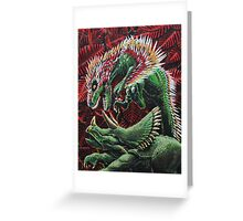 Murder in the Mesozoic Greeting Card
