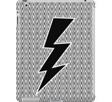 Black Flash Lightning iPad Case/Skin