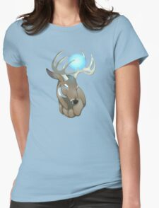 Deer glow Womens Fitted T-Shirt