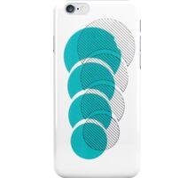 Geometric Screenprint iPhone Case/Skin