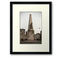 National Monument Amsterdam Framed Print