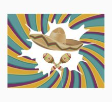 Sombrero and Maracas Kids Tee