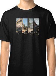 CSGO maps title Classic T-Shirt
