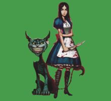 alice madness return chasire cat One Piece - Short Sleeve