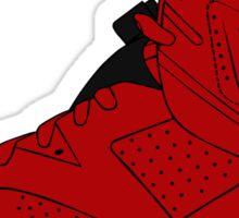 J6 History of Jordan Sticker